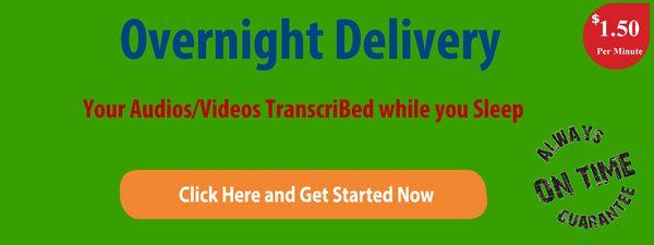 Fast Transcription Services